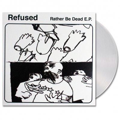 shop - Rather Be Dead | Clear Vinyl
