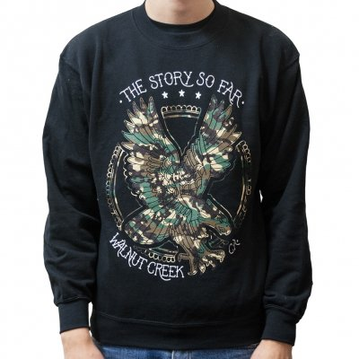 the-story-so-far - Camo Eagle | Sweatshirt