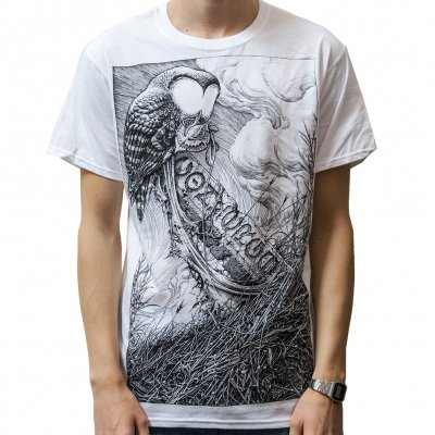 shop - Horkey Owl White | T-Shirt