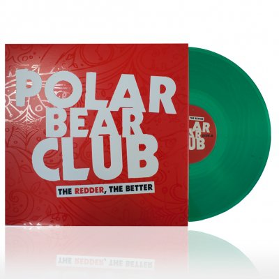 polar-bear-club - The Redder, The Better | 12 Inch EP trans. green V
