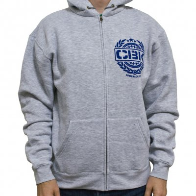 Comeback Kid - Crest Gray | Zip-Hood