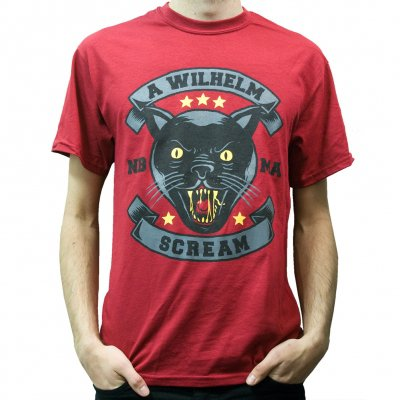 a-wilhelm-scream - Panther | T-Shirt