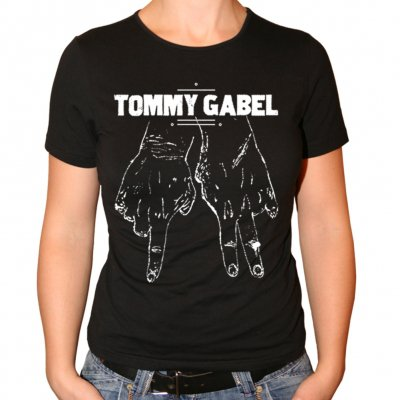 Tommy Gabel - Fingers | Girl Fitted T-Shirt