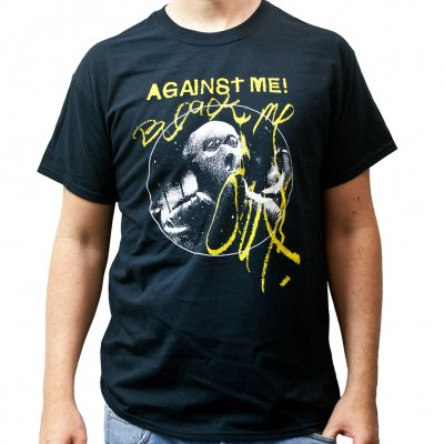 Against Me! - Black Me Out | T-Shirt