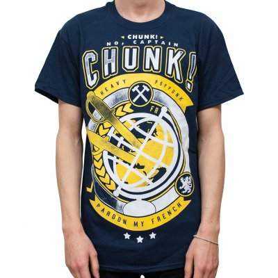chunk-no-captain-chunk - Globe | T-Shirt