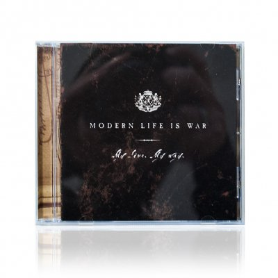 modern-life-is-war - My Love, My Way | CD