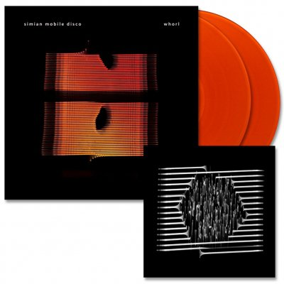 Simian Mobile Disco - Whorl | 2xOrange Vinyl+Print