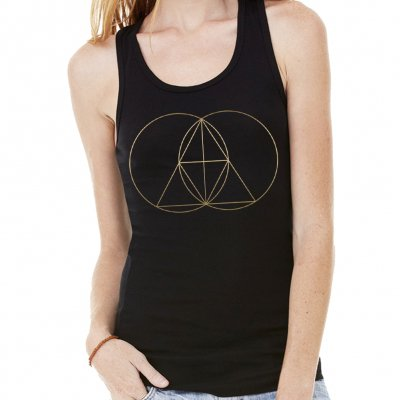 The Glitch Mob - Geometry | Girl Tank Top