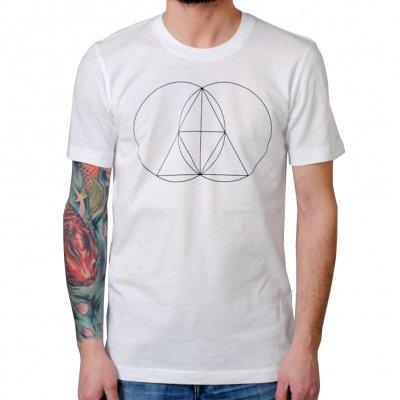 The Glitch Mob - Geometry White | T-Shirt