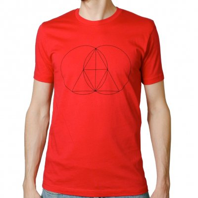 shop - Geometry Red | T-Shirt