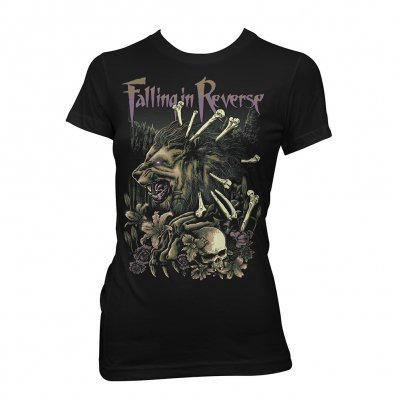 Falling In Reverse - Wilderness | Fitted Girl T-Shirt