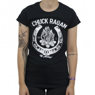 chuck-ragan - Horseshoe | Girl Fitted T-Shirt