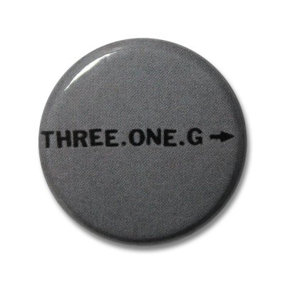 Three One G - Logo | Button