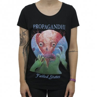 Propagandhi - Splitter Tour | Fitted Girl T-Shirt