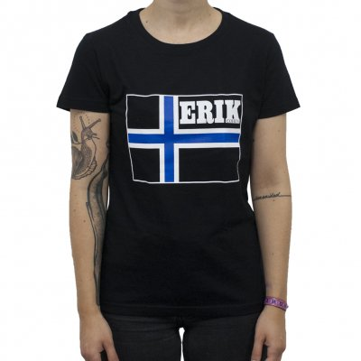 Erik Cohen - Flag | Girl Fitted T-Shirt