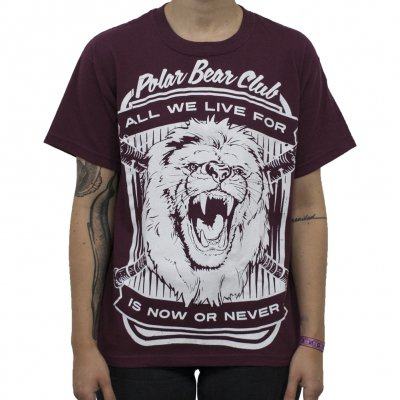 Polar Bear Club - Lion | Fitted Girl T-Shirt