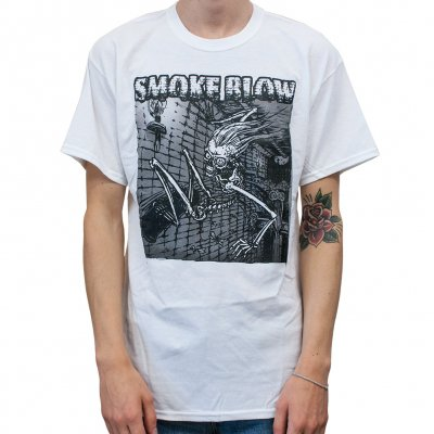 Smoke Blow - Skate Skull White | T-Shirt