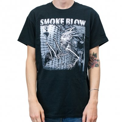 Smoke Blow - Skate Skull Black | T-Shirt