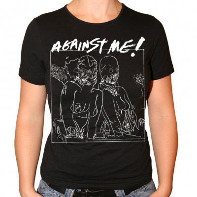 Against Me! - Europe Tour | Girl Fitted T-Shirt