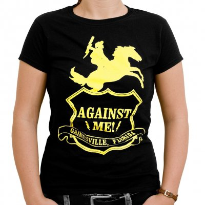 Against Me! - Shield | Girl Fitted T-Shirt