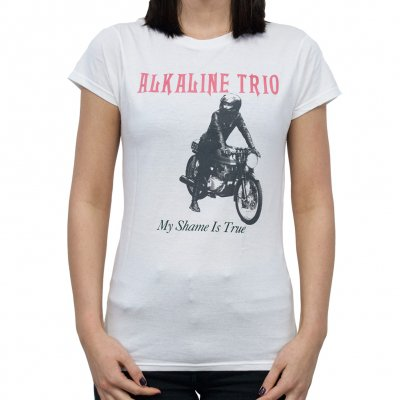 Alkaline Trio - My Shame Is True | Girl Fitted T-Shirt