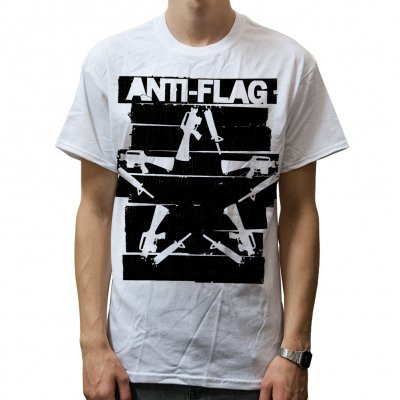 anti-flag - Duct Tape Gun Star | T-Shirt
