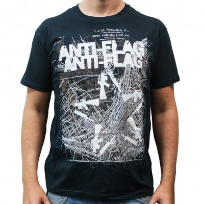 anti-flag - Gun Star Map | T-Shirt