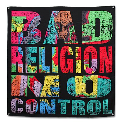 bad-religion - No Control | Flag