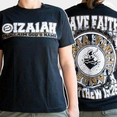 izaiah - Omnia Vincit Amor | Girl Fitted T-Shirt