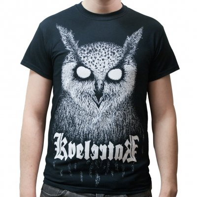 Barlett Owl Black | T-Shirt