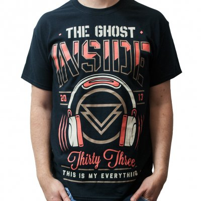 The Ghost Inside - Headphones | T-Shirt