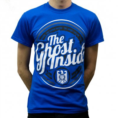 The Ghost Inside - Circle Logo Blue | T-Shirt