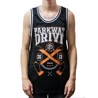 parkway-drive - Axe | Basketball Jersey