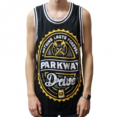 Parkway Drive - Atlas 2012 | Basketball Jersey