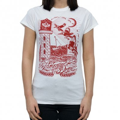 Lighthouse | Girl Fitted T-Shirt