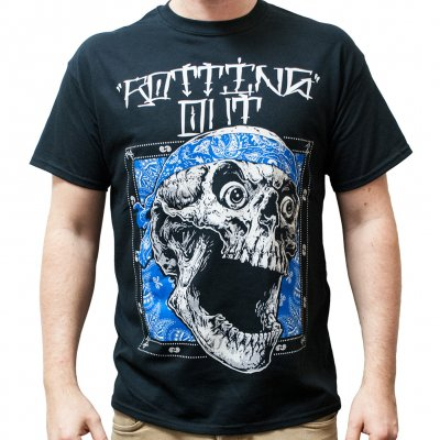Rotting Out - Skull Bandana | T-Shirt