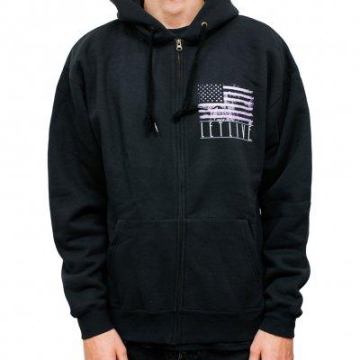 Letlive - American Flag | Zip-Hood