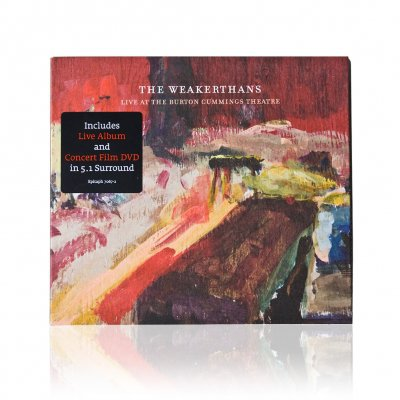 The Weakerthans - Live At The Burton Cummings Theatre | CD/DVD