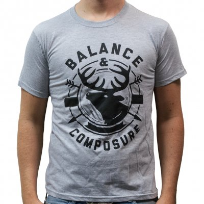 Balance And Composure - Deer | T-Shirt