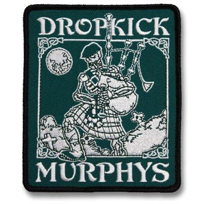 Dropkick Murphys - Skeleton Piper | Patch