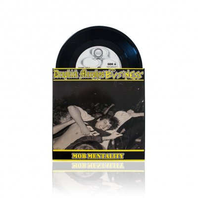 shop - w/The Business - Mob Mentality | 7 Inch
