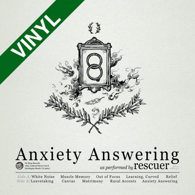 no-sleep-records - Anxiety Answering | Olive/Cream Haze Vinyl