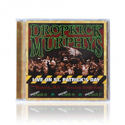 dropkick-murphys - Live On St. Patrick s Day | CD