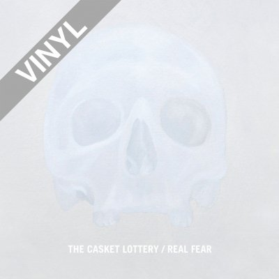 The Casket Lottery - Real Fear | Grey Vinyl