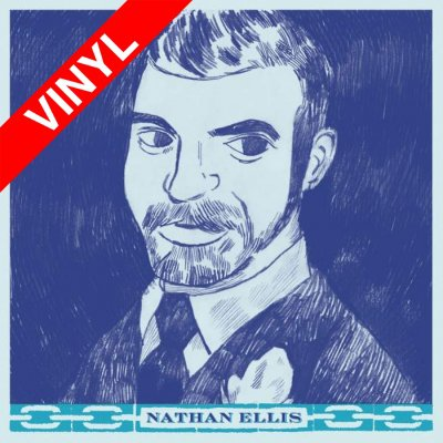 Nathan Ellis, The Casket Lottery - s/t | Red 7 Inch