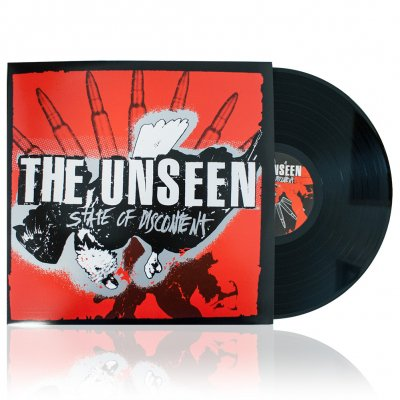The Unseen - State Of Discontent | Black Vinyl