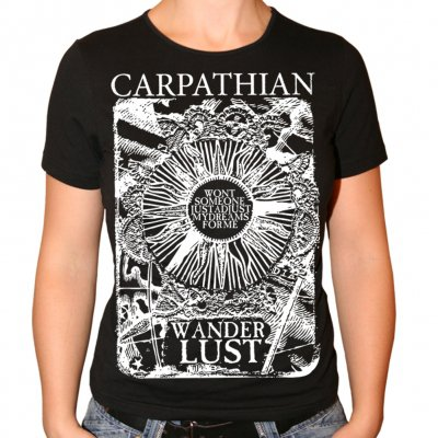 Carpathian - Wanderlust | Girl Fitted T-Shirt