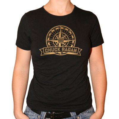 Chuck Ragan - Nomad | Girl Fitted T-Shirt