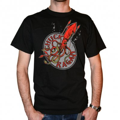 chuck-ragan - Grey Squid | T-Shirt