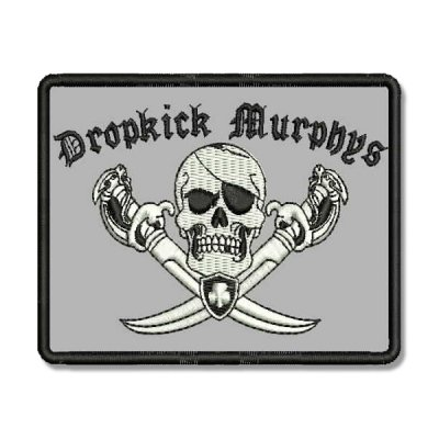 Dropkick Murphys - Jolly Roger Pirate | Patch